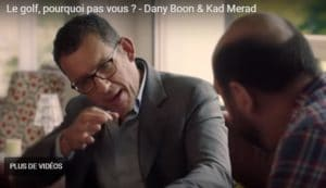 Humour : Dany Boon et la Ryder Cup