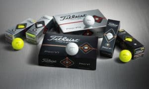Les nouvelles balles Titleist Pro V1